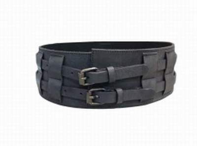fb420b62627 ceinture large cuir marron